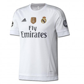 adidas Real Madrid UEFA Champions League Home Jersey 2015-2016 UWC YOUTH