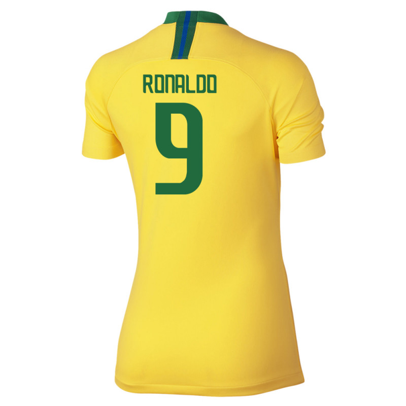 the latest b63d0 b29a5 nike brazil home jersey, brazil women's jersey, 2018 brazil ...