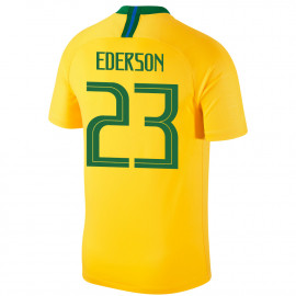 BRAZIL MEN'S HOME JERSEY WORLD CUP RUSSIA 2018 EDERSON #23