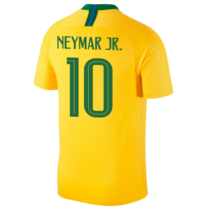 5c0b86579e4 BRAZIL MEN'S HOME JERSEY WORLD CUP RUSSIA 2018 NEYMAR JR.  10