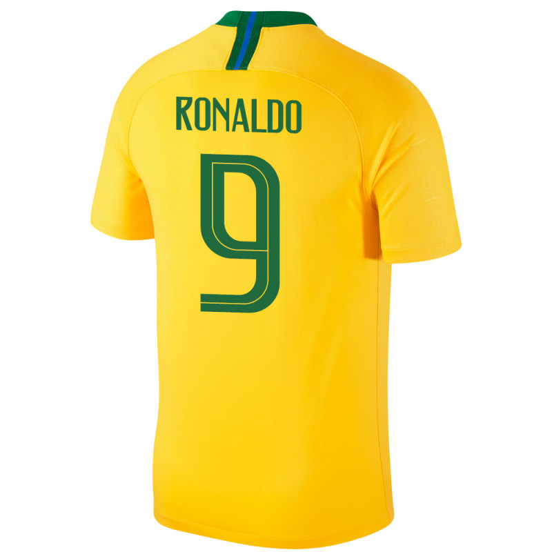 newest collection 4fd29 a7264 BRAZIL 2018 HOME MENS JERSEY, NIKE BRAZIL HOME JERSEY ...