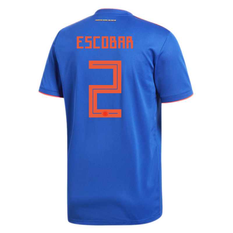 ef0c137ab36 COLOMBIA OFFICIAL MEN S AWAY SOCCER JERSEY WORLD CUP RUSSIA 2018 ESCOBAR  2
