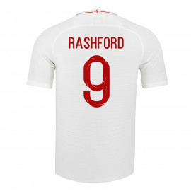 ENGLAND MEN'S HOME JERSEY WORLD CUP RUSSIA 2018 RASHFORD #9