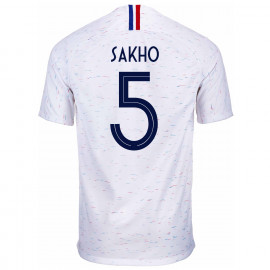FRANCE MEN'S AWAY JERSEY WORLD CUP RUSSIA 2018 SAKHO #5