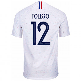 FRANCE MEN'S AWAY JERSEY WORLD CUP RUSSIA 2018 TOLISSO #12