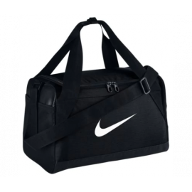 NIKE BRASILIA 7 EXTRA SMALL DUFFEL BAG -BLACK/WHITE