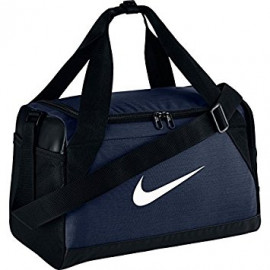 NIKE BRASILIA 7 EXTRA SMALL DUFFEL BAG-NAVY BLUE