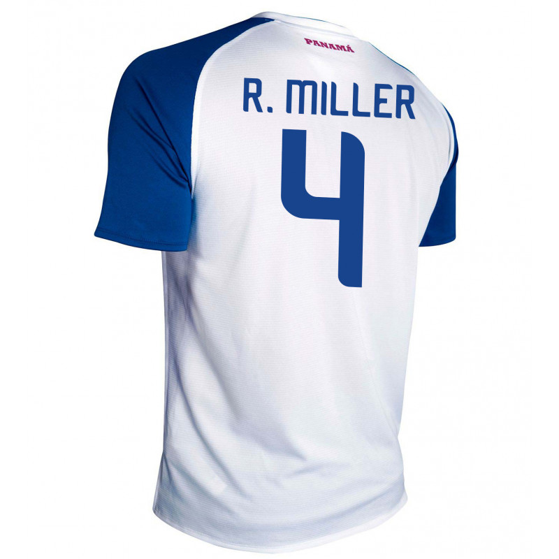 PANAMA AWAY MEN'S JERSEY WORLD CUP RUSSIA 2018 R. MILLER #4