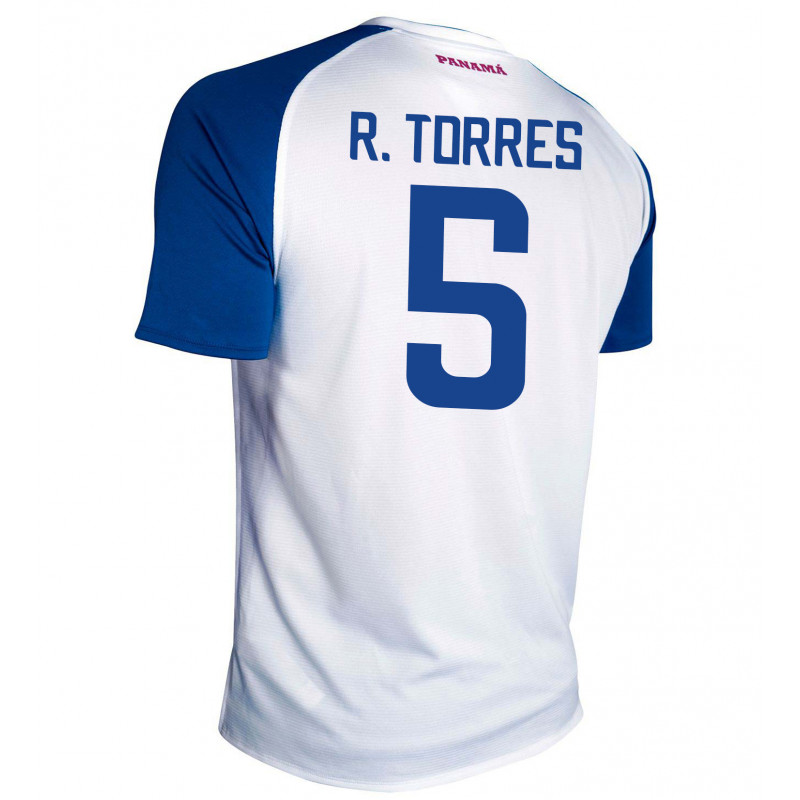 PANAMA AWAY MEN'S JERSEY WORLD CUP RUSSIA 2018 R. TORRES #5