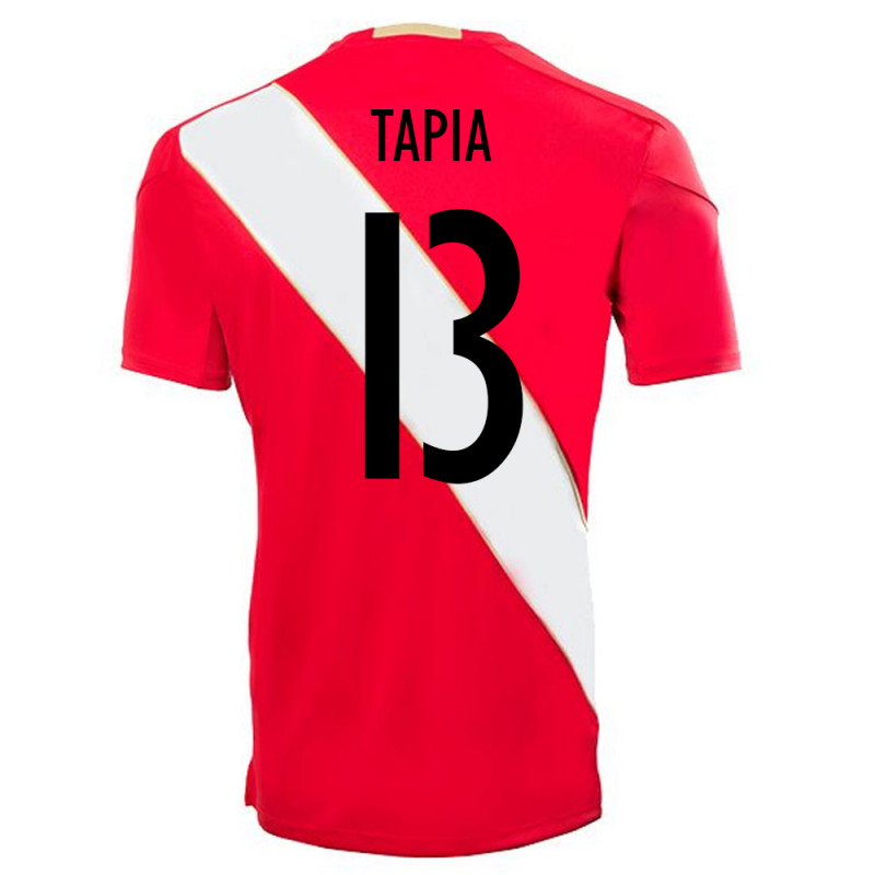 PERU OFFICIAL MEN'S AWAY SOCCER JERSEY WORLD CUP RUSSIA 2018 TAPIA #13