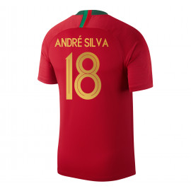 PORTUGAL MEN'S HOME JERSEY WORLD CUP RUSSIA 2018 ANDRE SILVA #18