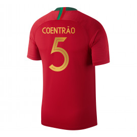 PORTUGAL MEN'S HOME JERSEY WORLD CUP RUSSIA 2018 COENTRAO #5