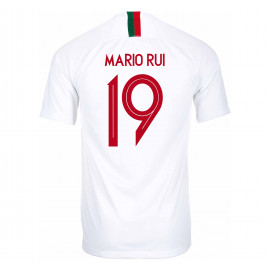 PORTUGAL MEN'S AWAY JERSEY WORLD CUP RUSSIA 2018 MARIO RUI #19