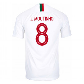 PORTUGAL MEN'S AWAY JERSEY WORLD CUP RUSSIA 2018 J. MOUTINHO #8