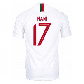 PORTUGAL MEN'S AWAY JERSEY WORLD CUP RUSSIA 2018 NANI #17