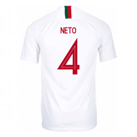 PORTUGAL MEN'S AWAY JERSEY WORLD CUP RUSSIA 2018 NETO #4