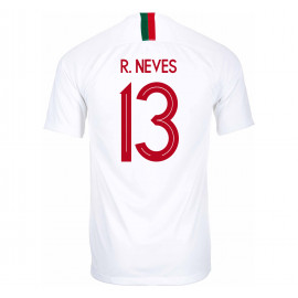 PORTUGAL MEN'S AWAY JERSEY WORLD CUP RUSSIA 2018 R. NEVES #13