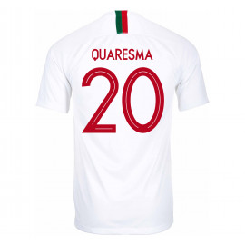 PORTUGAL MEN'S AWAY JERSEY WORLD CUP RUSSIA 2018 QUARESMA #20