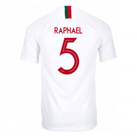 PORTUGAL MEN'S AWAY JERSEY WORLD CUP RUSSIA 2018 RAPHAEL #5