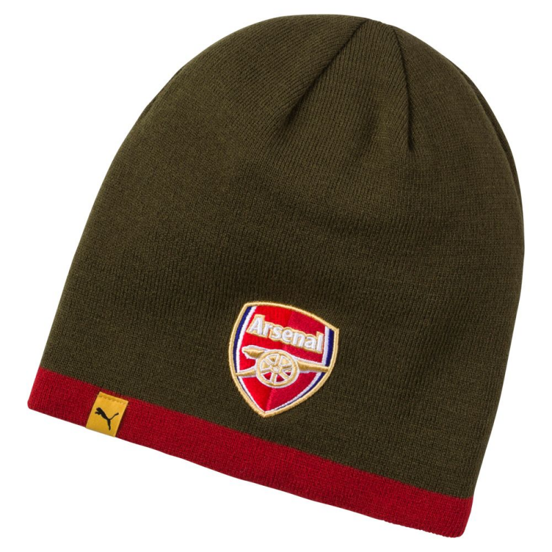 ARSENAL REVERSIBLE BEANIE, RED