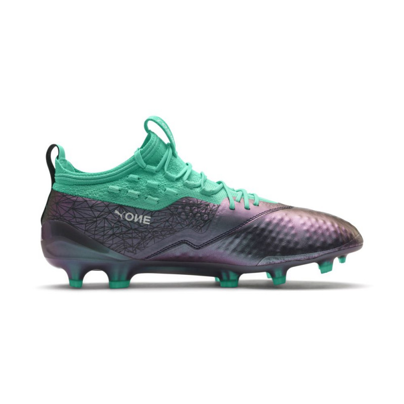 PUMA ONE 1 IL LTH Firm Ground / Artificial Ground, GRAY