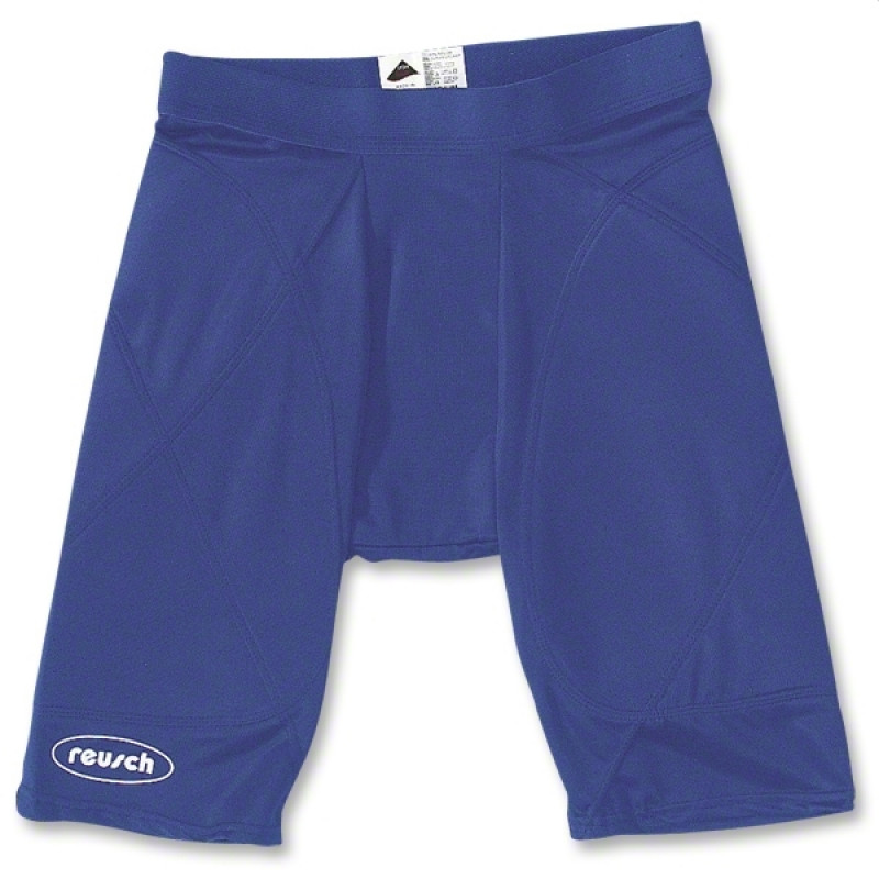 PADDED COMPRESSION SHORT (YOUTH) ROYAL