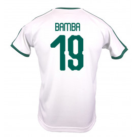 SENAGAL MEN'S HOME JERSEY WORLD CUP RUSSIA 2018 (WHITE) BAMBA #19