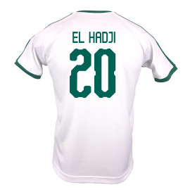 SENAGAL MEN'S HOME JERSEY WORLD CUP RUSSIA 2018 (WHITE) EL HADJI #20