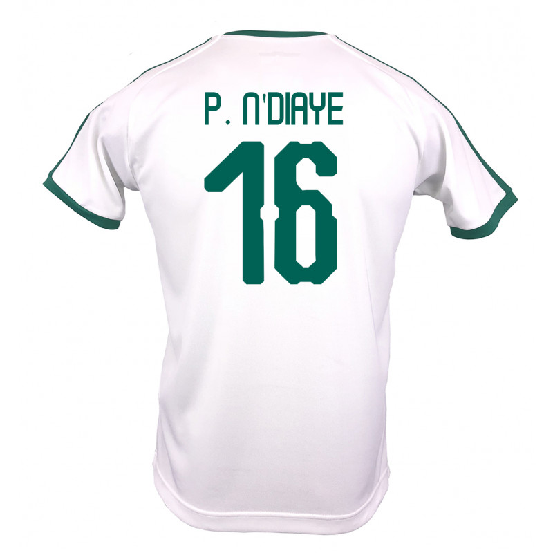 4cb1d8a2d33 SENEGAL MEN S HOME JERSEY WORLD CUP RUSSIA 2018 (WHITE) P. N DIAYE
