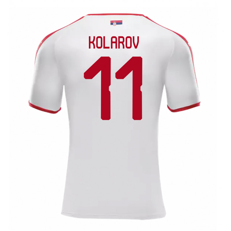 560f87844 SERBIA MEN S AWAY JERSEY WORLD CUP RUSSIA 2018 KOLAROV  11