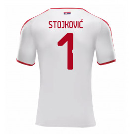 SERBIA MEN'S AWAY JERSEY WORLD CUP RUSSIA 2018 STOJKOVIC #1