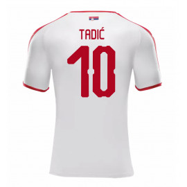 SERBIA MEN'S AWAY JERSEY WORLD CUP RUSSIA 2018 TADIC #10