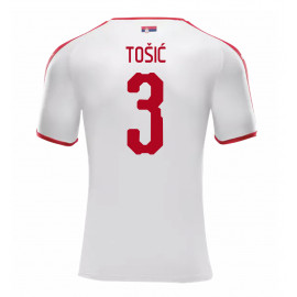 SERBIA MEN'S AWAY JERSEY WORLD CUP RUSSIA 2018 TOSIC #3