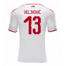 SERBIA MEN'S AWAY JERSEY WORLD CUP RUSSIA 2018 VELJKOVIC #13