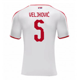 SERBIA MEN'S AWAY JERSEY WORLD CUP RUSSIA 2018 VELJKOVIC #5