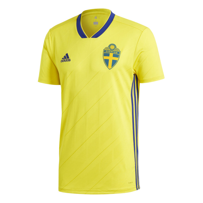 SWEDEN OFFICIAL MEN'S HOME SOCCER JERSEY WORLD CUP RUSSIA 2018