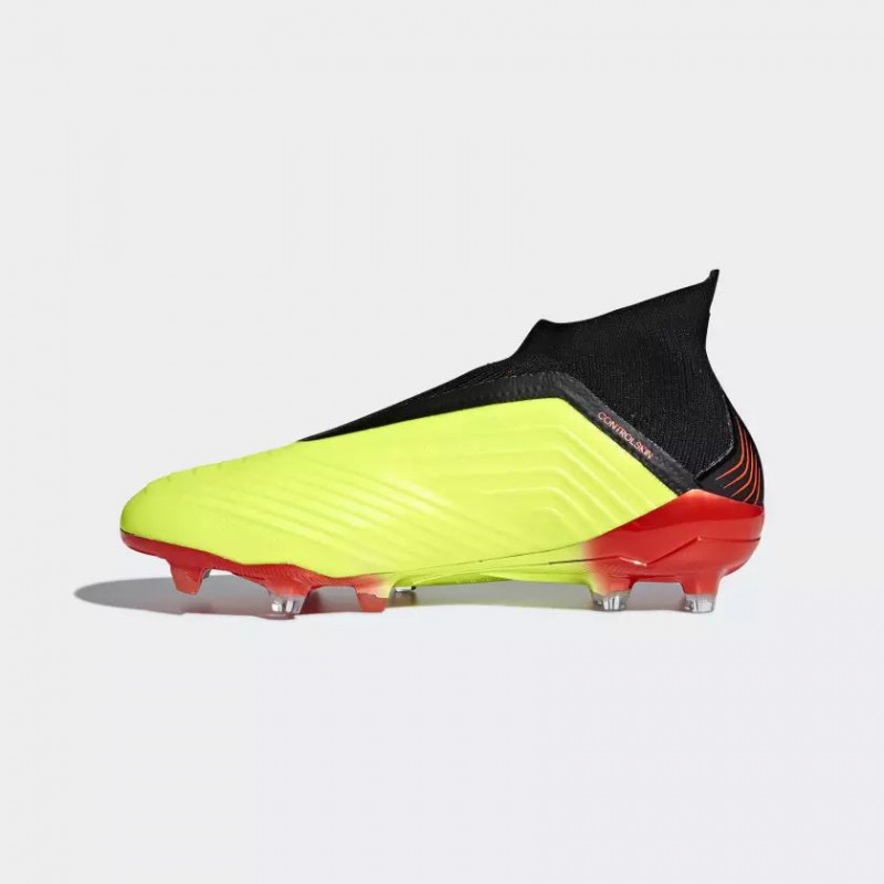 PREDATOR 18+ FIRM GROUND YELLOW