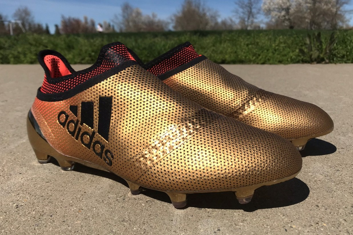 Gold adidas X 17+ purespeed review
